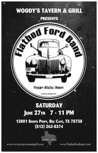 Flatbed Ford at